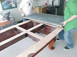 Pool table moves in Nashville Tennessee