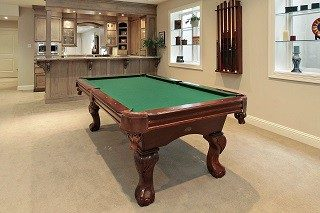 Pool table installers in Nashville, Tennessee
