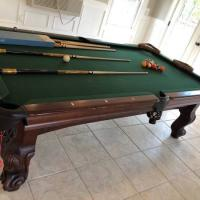 Elegant Looking Pool Table