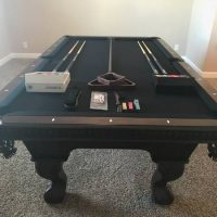Authentic Cannon Pool Table