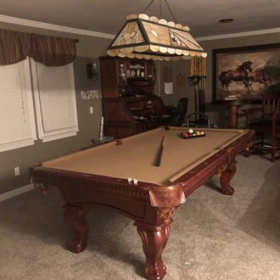 Complete 8' Pool Table Package