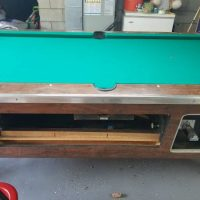 7' Barbox Pool Table