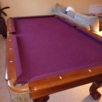 CL Bailey Pool Table Full Slate
