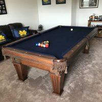 Beautiful 8' Presidential Billiards Table