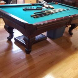 Liberty Pool Table 8'.