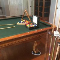 "3/4"" Slate Brunswick Pool Table"
