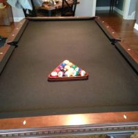 Triumph Regulation Pool Table and Accessories
