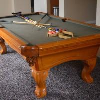 Beautiful 7 FT Pool Table