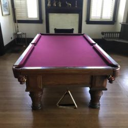 Competition pool table