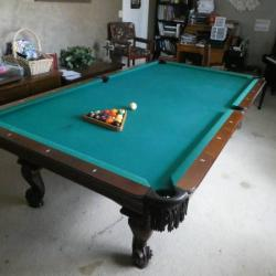 30th Anniversary Olhausen 9ft Pool Table