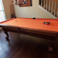 8' American Heritage Pool Table